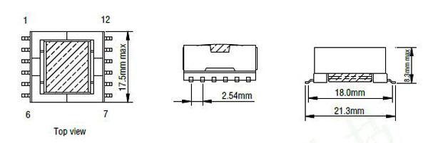 Hot sale EFD15 SMPS transformer