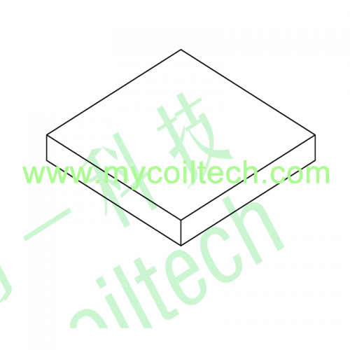 Common Mode Choke Square Inductor Base