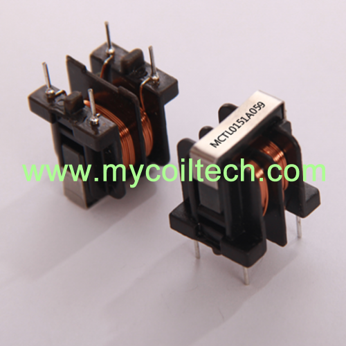 EMI Suppression Filter Common Mode Choke Coil UU9 Series Standard Winding