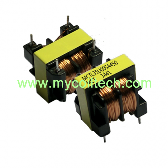 High Frequency Electrical Power UU35 Common Mode Choke