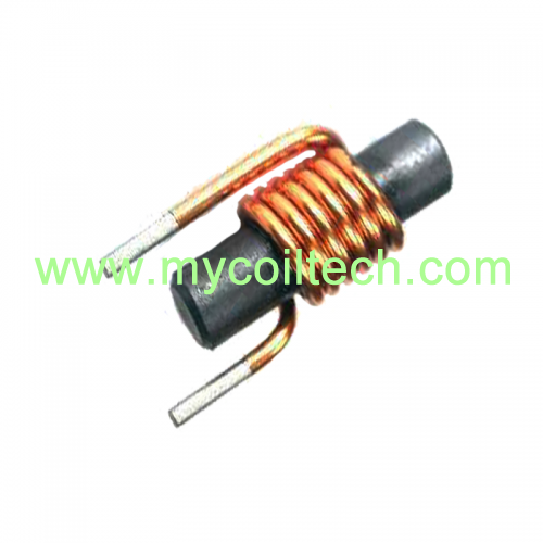 High Frequency Ferrite Rod Core Magnetic Coil Inductor