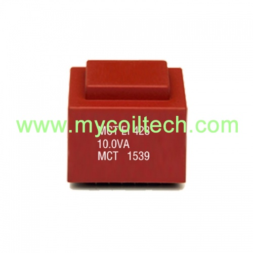 Low frequency EI type electronic encapsulated transformers