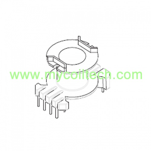 High Frequency Electronic Transformer Bobbin with 3+5 Pins Bobbin