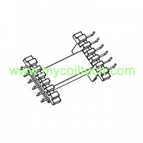 Horizontal Bobbin EE Type 6+6 Pins Transformer Bobbin
