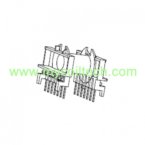 Phenolic ETD34 Electronic Transformer Bobbin with 7+7 Pins