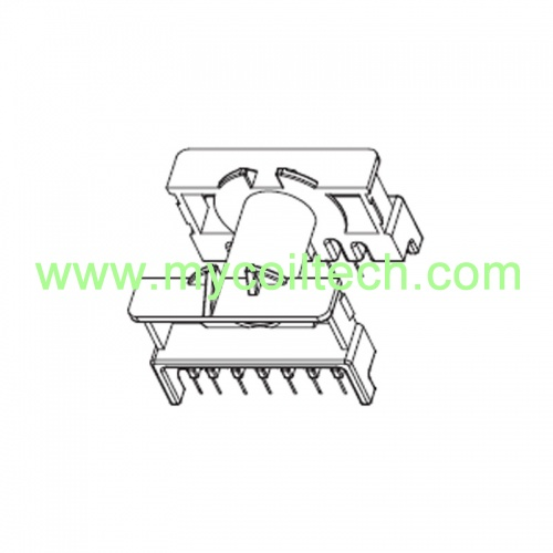 Horizontal ETD34 Electronic Transformer Bobbin with 14Pins