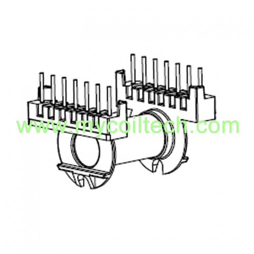 7+7 Pins ER35 Horizontal Electronic Transformer Bobbin