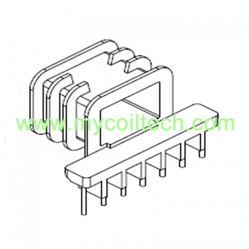 EPC40 Horizontal High Frequency Transformer Bobbin