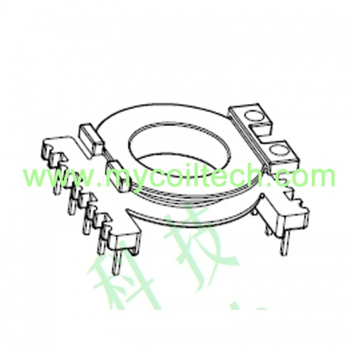 Phenolic BP Type Vertical Electronic Transformer Bobbin