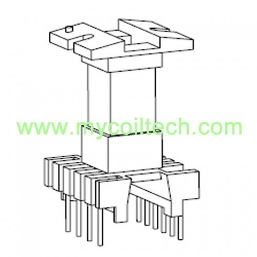 EL19 4+6 Pins Transformer Bobbin For Ferreite Core
