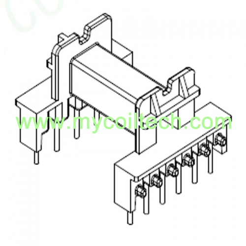 Powerful Transformer Bobbin EEL19 Horizontal Bobbin