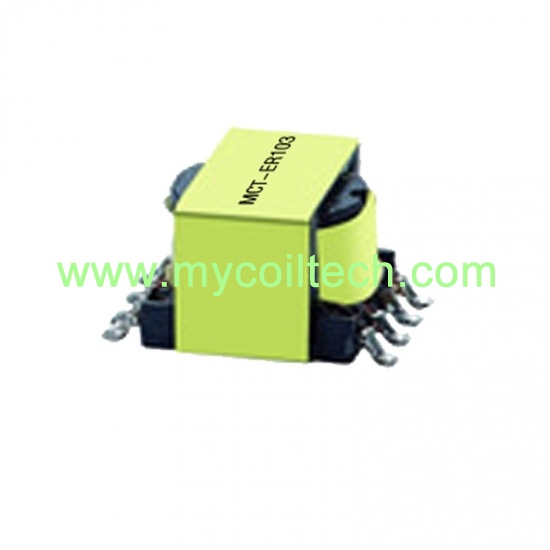 ER9.5 SMD 4+4 Pin Ferrite Core High Frequency Transformers