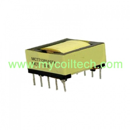 12 Pin EFD20 Horizontal High Frequency Transformer
