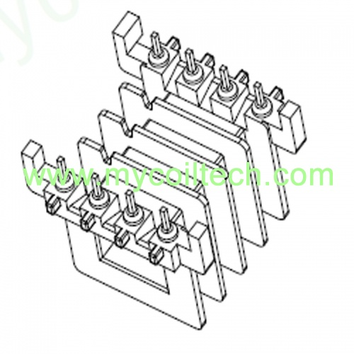 EVD25 Coil Former for PCB Mounting Transformers