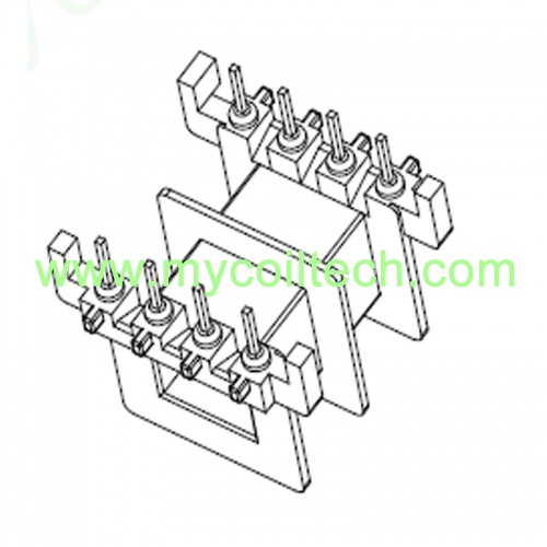 High Quality Transformer Bobbin EVD25 4+4pin Bobbin