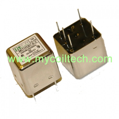 Factory Design Single Phase PCB Mounting EMI Filter