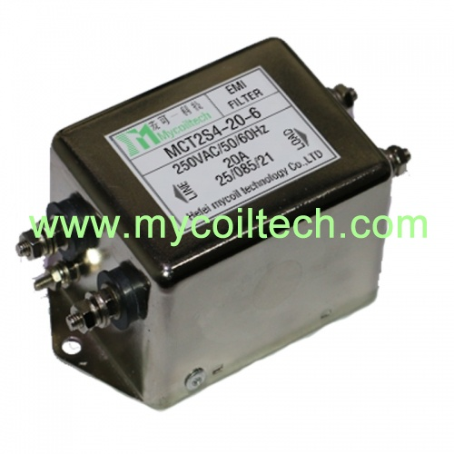 6A 120V Single Phase EMI Filters
