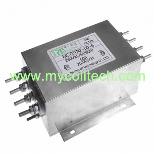 6A-600A Three Phase Four Wires Power Filter