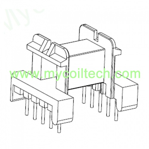 10 Pin Horizontal EF25 Transformer Bobbin
