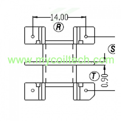 2+2 Pins EF25 Transformer Wholesale