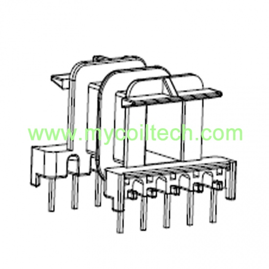 6+6 Pins EF25 Transformer Bobbin