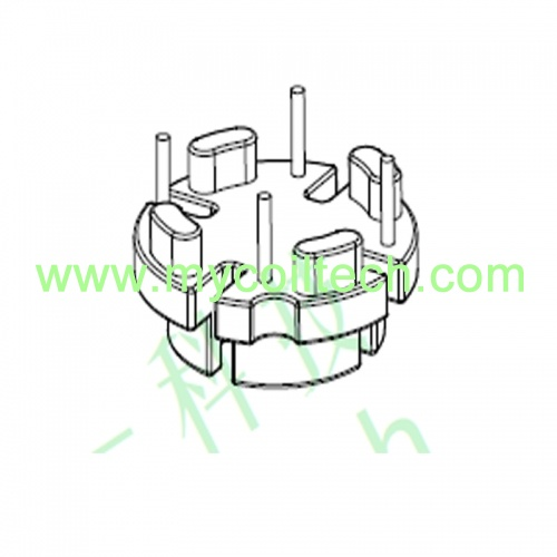 Toroid core wire wound inductor base